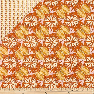 fabri quilt paintbrush studio fabrics bloom pre quilted tulips flowers fabric ebay Unique Fabri Quilt Pre Quilted Fabric