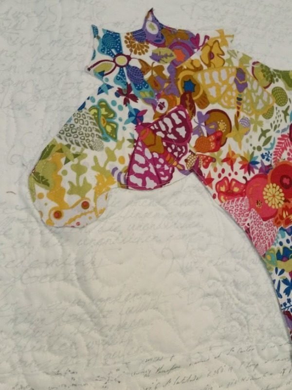fabric collage quilt how to make one patchwork posse Modern Fabric Collage Quilts Gallery