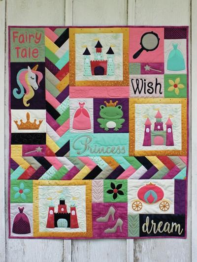 fairy tale princess quilt pattern Unique Applique Quilting Patterns