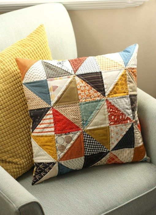 fall sewing projects quilts ive made fall sewing Cool Quilted Pillows Patterns Inspirations
