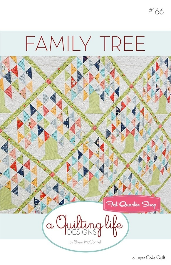 family tree downloadable pdf quilt pattern a quilting life Family Tree Quilt Patterns