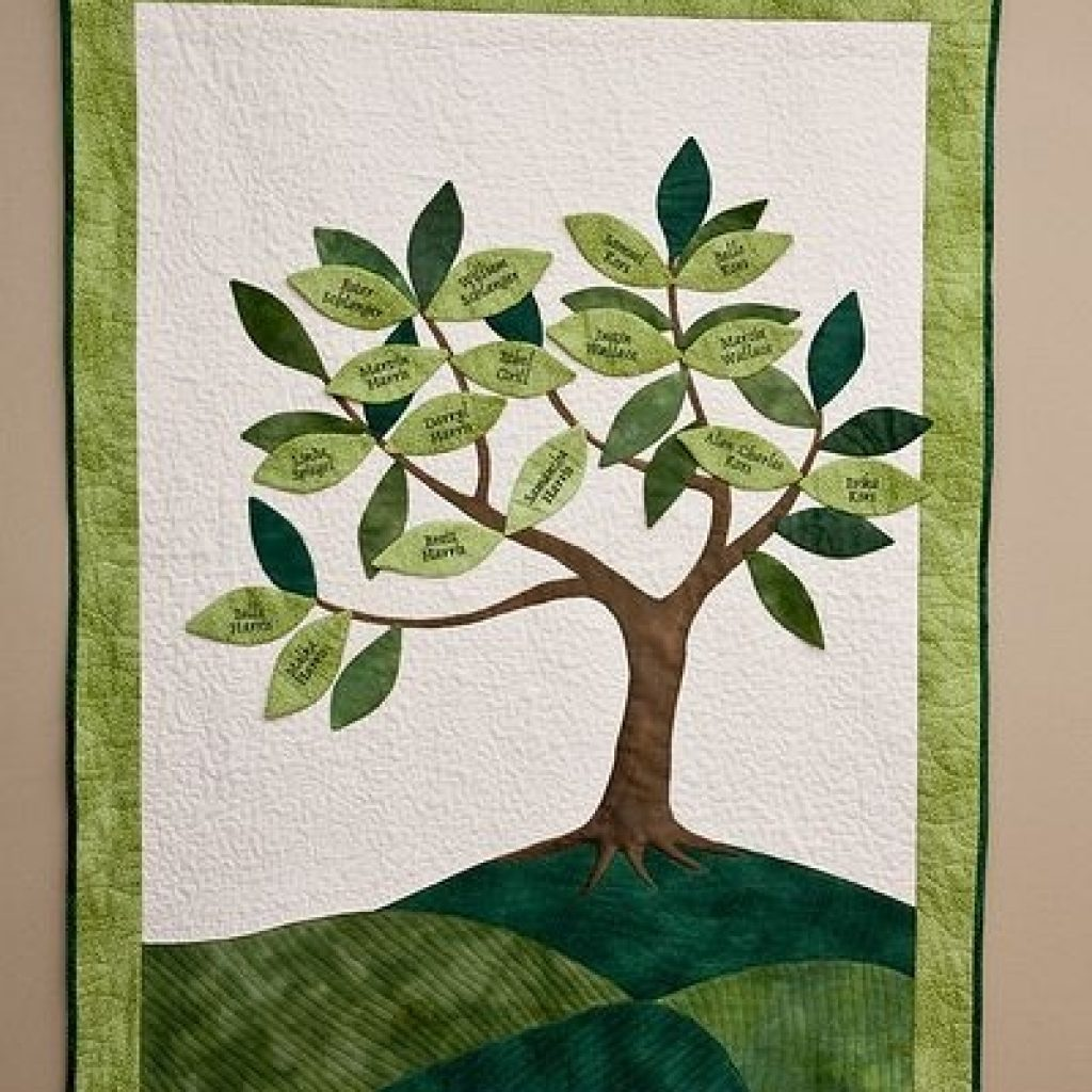 family tree quilt quilt tree quilt pattern family tree Family Tree Quilt Patterns