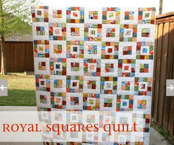 fast and easy scrap quilt royal squares quilt pattern Interesting Easy Scrap Quilt Patterns