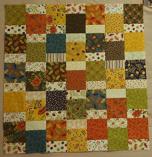 fast easy designs with 5 inch squares quilts jen Cozy Fast And Easy Quilt Patterns
