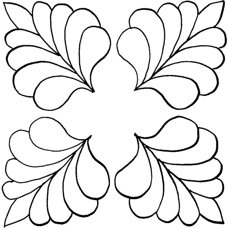 feather quilting stencil patterns clip art library Unique Quilting Stencil Patterns Inspirations