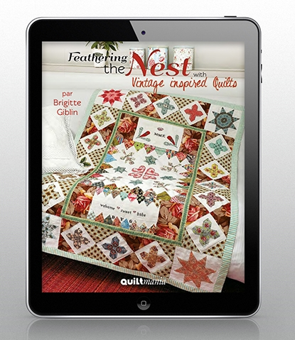 feathering the nest ebook Feathering The Nest With Vintage Inspired Quilts Inspirations