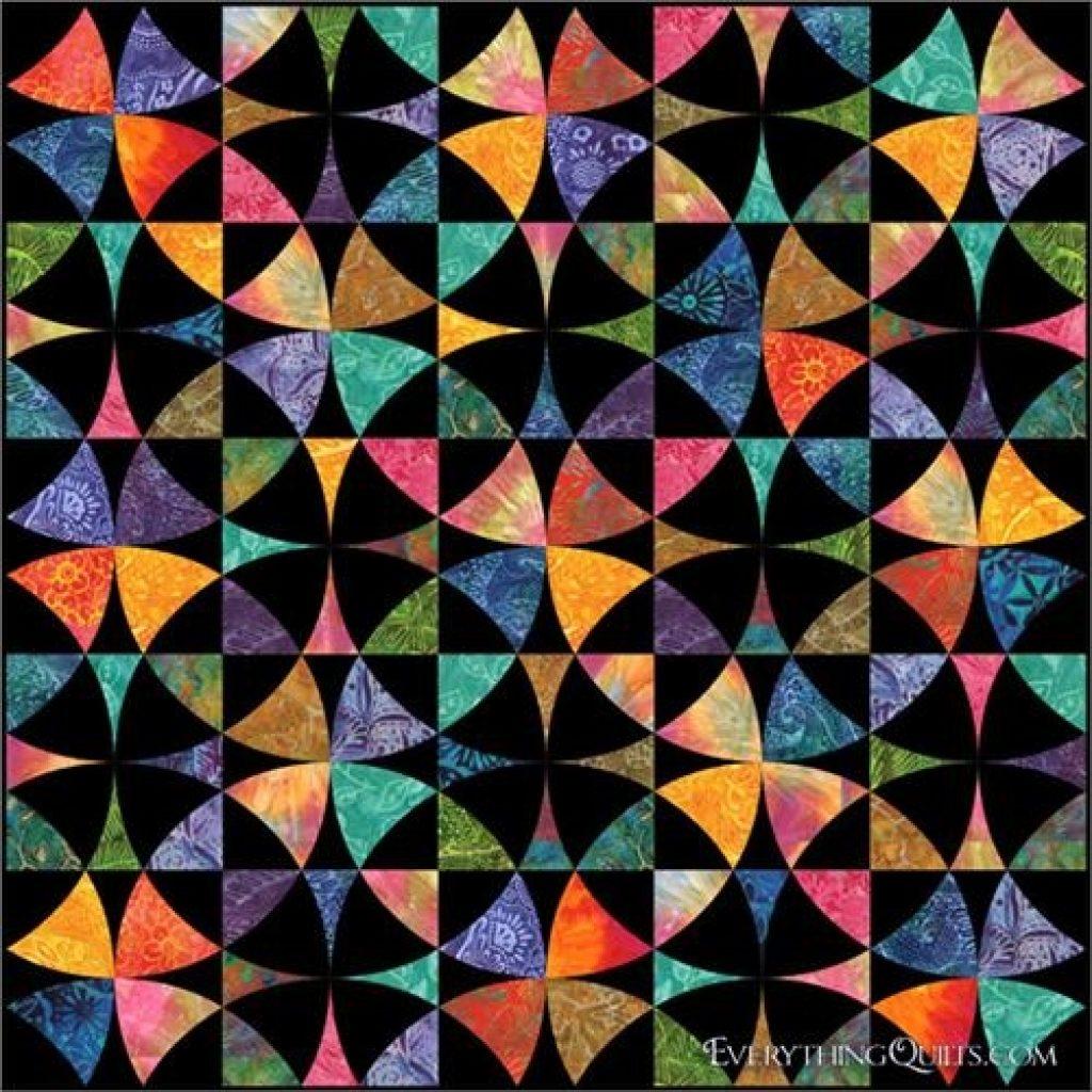 field of dreams wheel of mystery pre cut quilt kit at Modern Wheel Of Mystery Quilt Pattern Gallery