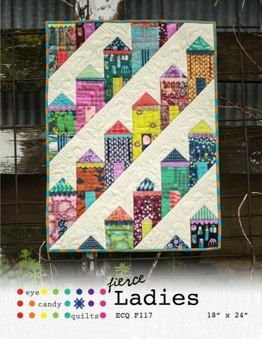 fierce ladies quilting mini quilt patterns quilts Interesting Quilting Books Patterns And Notions Inspirations