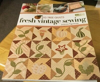 fig tree quilts fresh vintage sewing joanna figueroa quilt sewing applique ebay Cozy Fig Tree Quilts Fresh Vintage Sewing