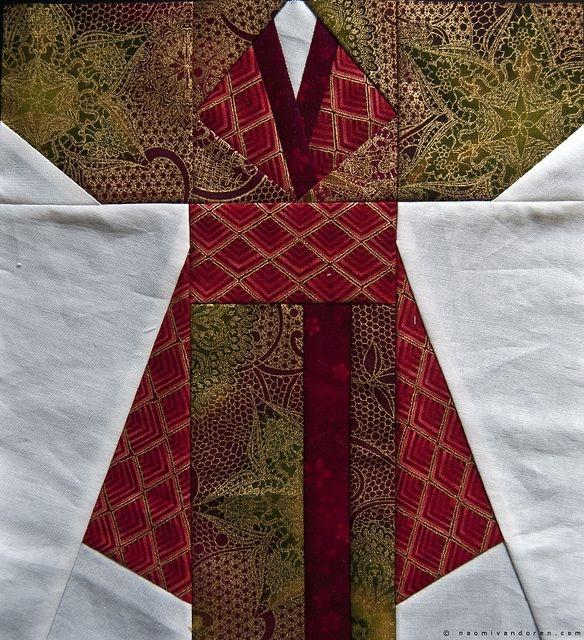 finished kimono quilt blocks quilt block patterns Elegant Kimono Quilt Block Pattern Inspirations