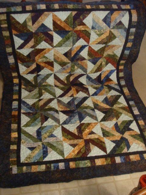 finished trade winds batik quilt sew artsy craftsy batik Cool Tradewinds Quilt Pattern