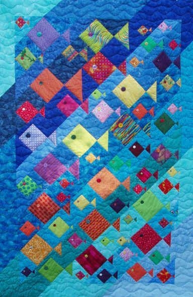 fish quilt pattern about quilts summer on pinterest Interesting Quilting Patterns Pinterest