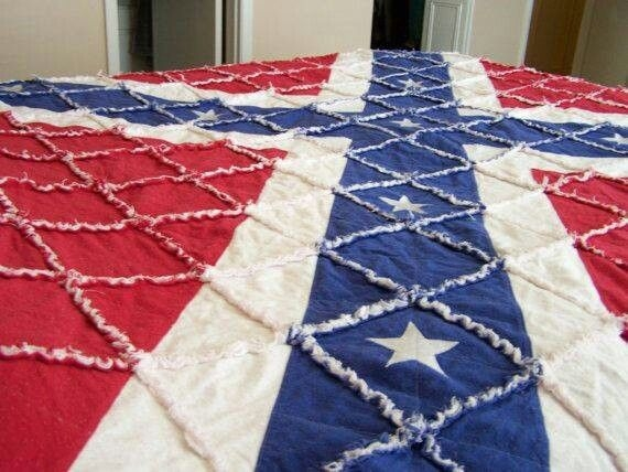 flag quilt quilts flag quilt rag quilt applique quilt Unique Confederate Flag Quilt Pattern