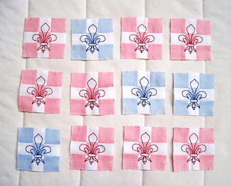 fleur de lis free pattern whims and fancies Stylish Fleur De Lis Quilt Pattern