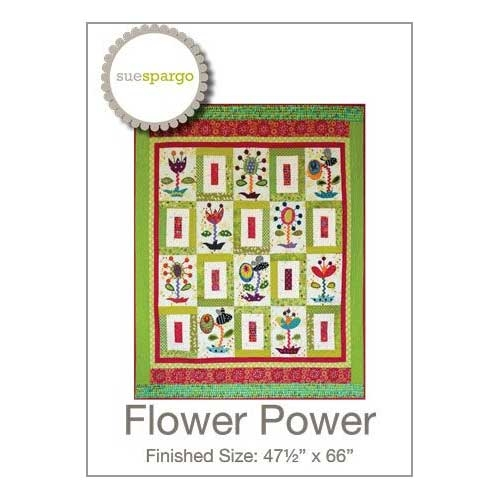 flower power quilt pattern sue spargo Modern Flower Power Quilt Pattern Gallery