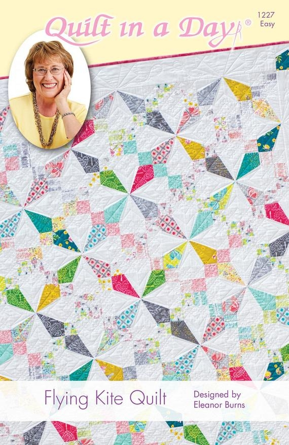 flying kite quilt pattern eleanor burns of quilt in a day Interesting Eleanor Burns Quilt In A Day Patterns Inspirations