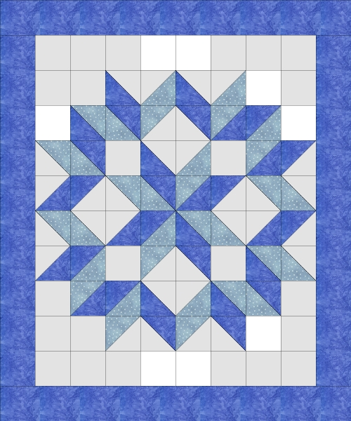 four hour quilt easy carpentars star quiltfrog quick and easy Modern Quilt Block Patterns By Size Gallery