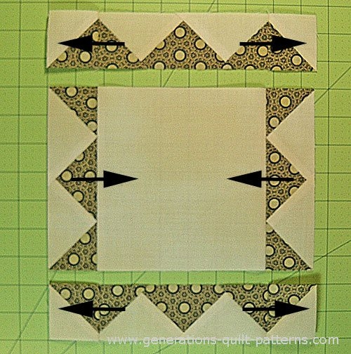 frame quilt block pattern in 6 9 and 12 sizes Interesting Picture Frame Quilt Pattern Inspirations
