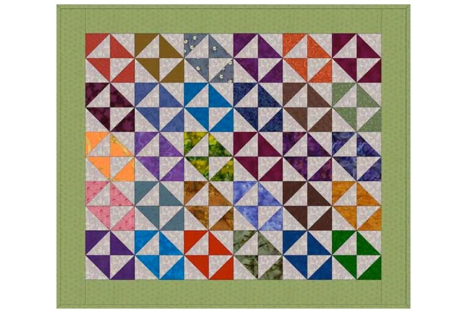 Permalink to Modern Broken Dishes Quilt Pattern