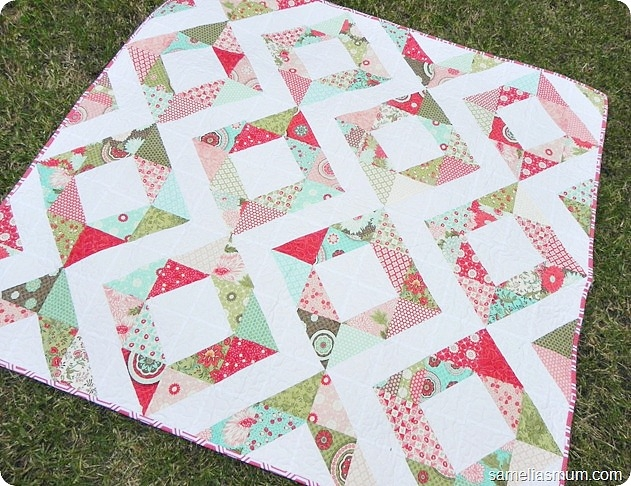 free charm pack quilt patterns u create Interesting Charm Square Quilt Pattern Gallery
