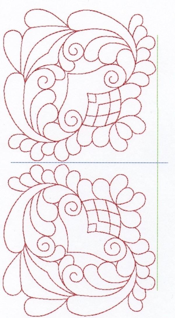 free hand quilting patterns stitches the large designs tory Cool Patterns For Hand Quilting Inspirations