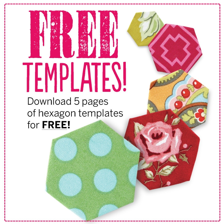 free hexagon template download 13 hexagon quilt pattern ideas Hexagon Baby Quilt Pattern To Print Free Gallery