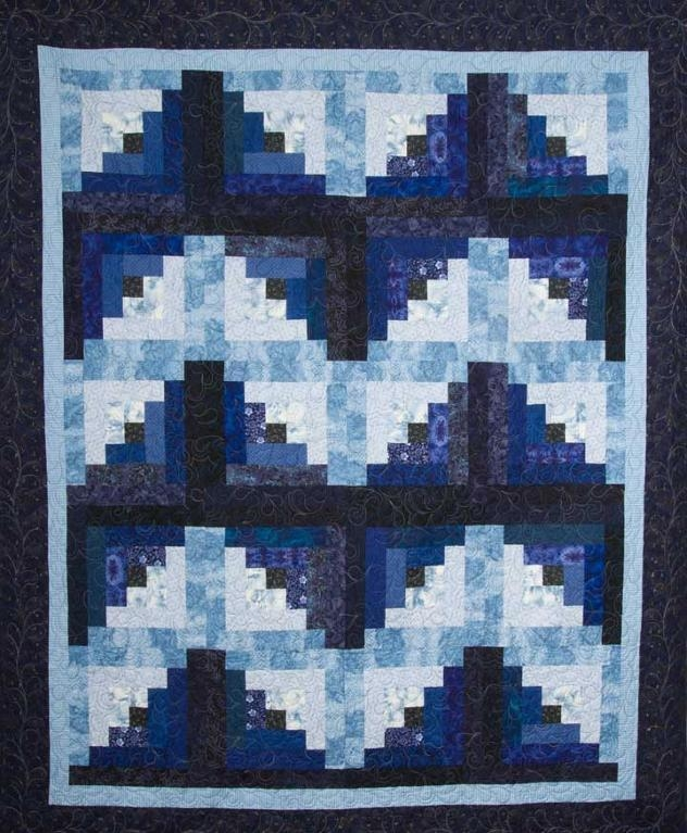 free log cabin block patterns 7 modern designs Stylish Pattern For Log Cabin Quilt Gallery