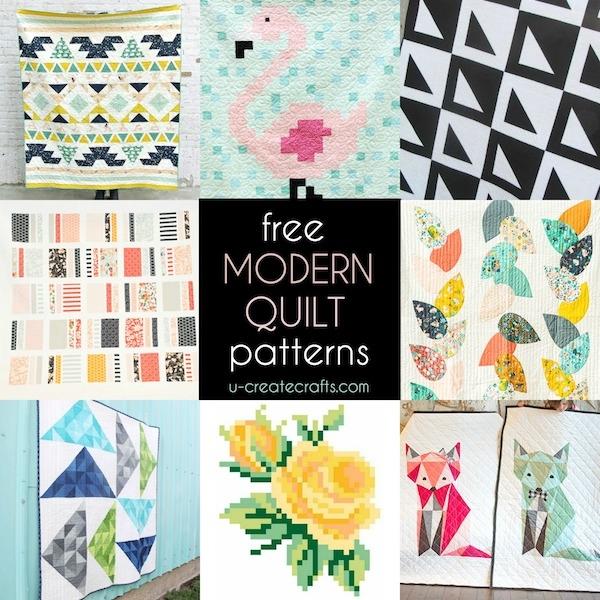 Unique Simple Modern Quilt Patterns