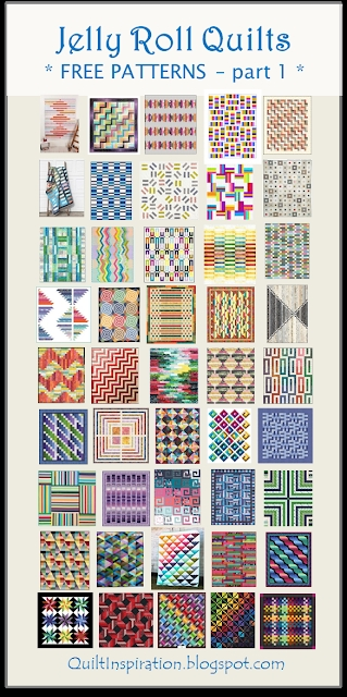 free pattern day jelly roll quilts part 1 of 2 quilt Interesting Jelly Roll Quilting Patterns