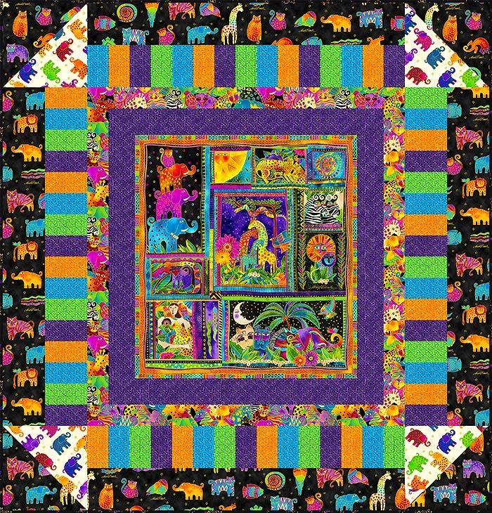 free pattern laurel burch mythical jungle equilter Cozy Laurel Burch Quilt Patterns Gallery