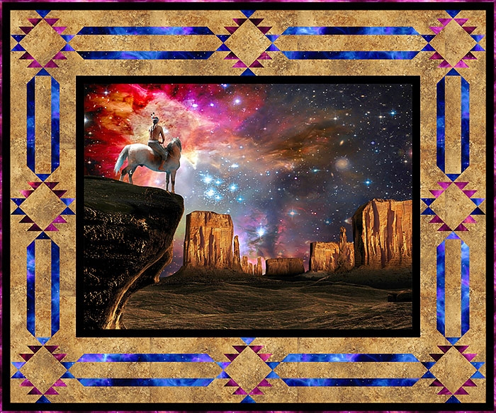 free pattern native american universe equilter Elegant Native American Quilt Patterns