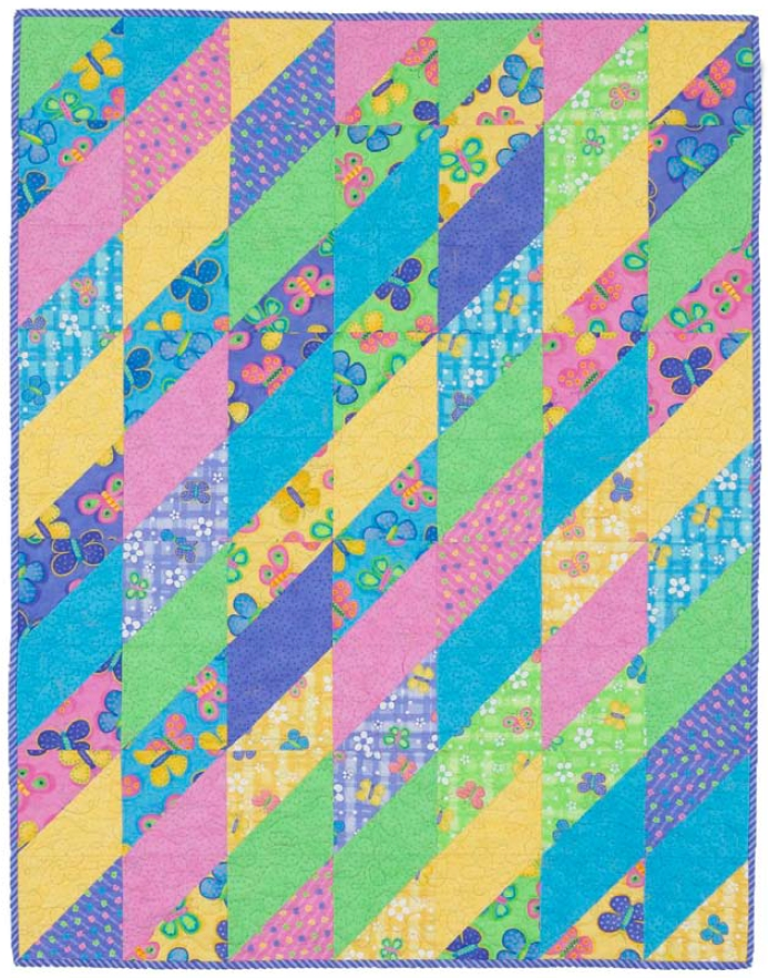 free pattern twisted triangles quilt roseann meehan Modern Twisted Triangle Quilt Pattern Gallery