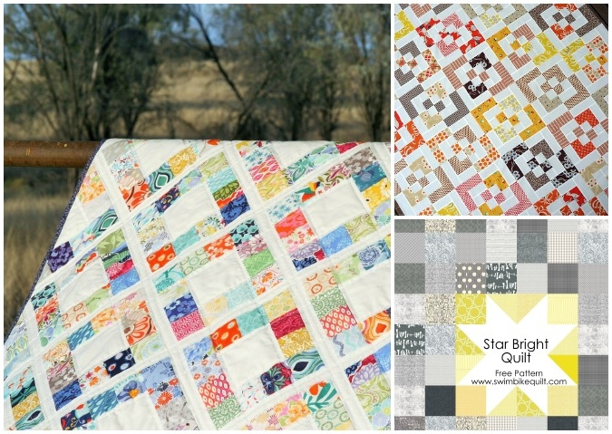 free patterns for easy charm square quilts bite sized biggie Stylish Charm Square Quilt Patterns Gallery