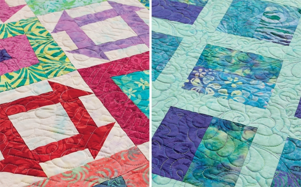free quilt pattern for batiksand jelly rolls stitch this Unique Batik Quilt Patterns Easy Inspirations