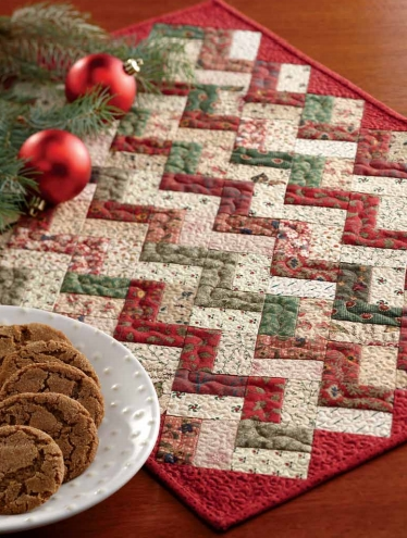 free quilt pattern little zz christmas placemat i sew free Christmas Quilting Placemat Gallery
