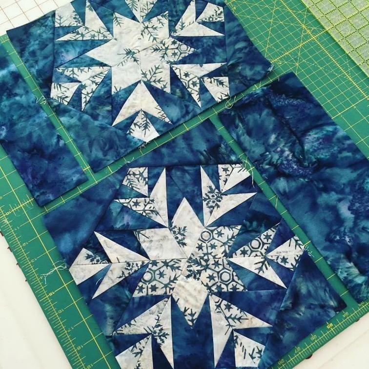 free quilt pattern snowflake snowflake quilt blocks Cool Snowflake Quilting Pattern