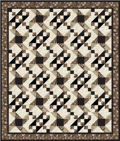 free quilt pattern two block quilt from pellon Interesting Two Block Quilt Patterns Inspirations