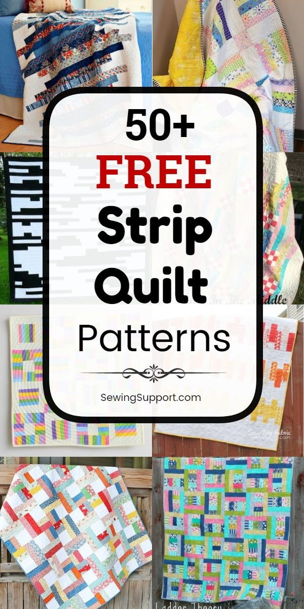 free quilt patterns using strips 50 free strip quilt Elegant Quilt Patterns Using Strips