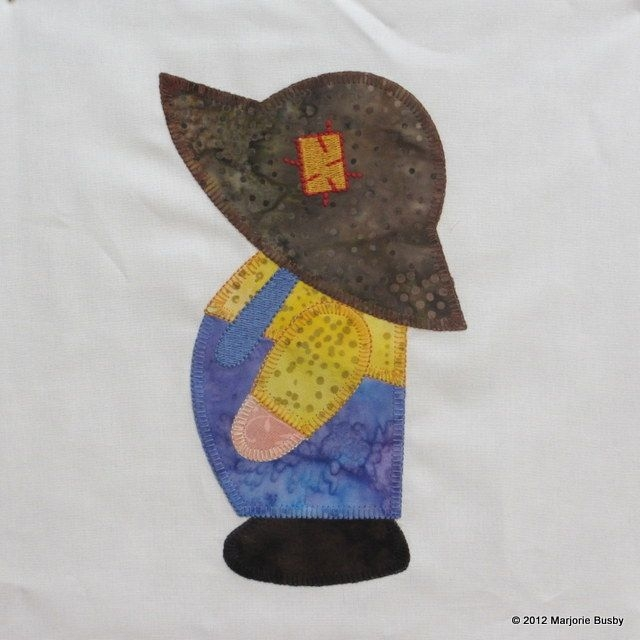Permalink to Overall Sam Quilt Block