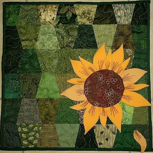 freesunflowerquiltpattern is an sunflower quilt pattern Unique Sunflower Quilt Patterns Inspirations