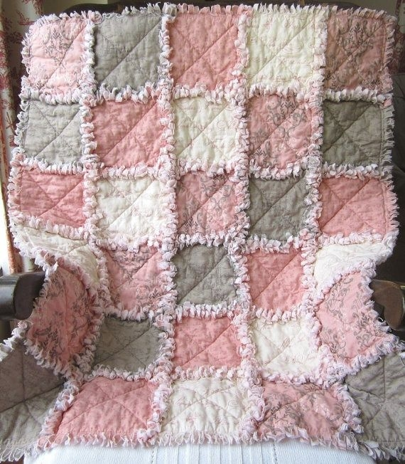 french country quilts french country ba girl quilt rag Interesting French Country Quilt Patterns Gallery
