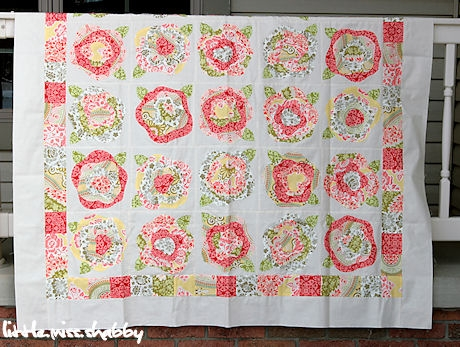 french roses quilt top finished coriander quilts Interesting French Rose Quilt Pattern