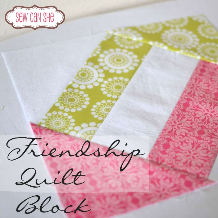 friendship quilt block sewcanshe free sewing patterns Friendship Quilt Block Pattern Inspirations