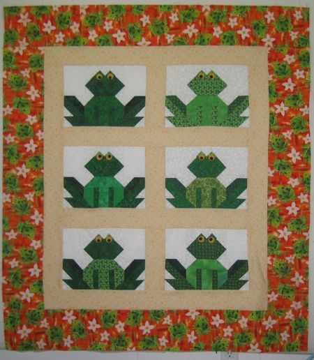frog quilt my quilts fish quilt pattern quilts quilt Modern Frog Quilt Block Pattern Gallery