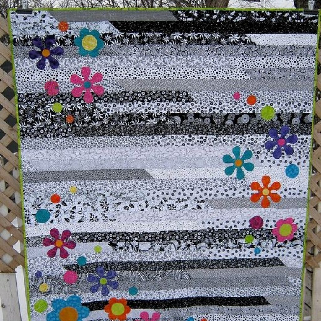 funky flower jelly roll 1600 quilts jelly roll quilt Elegant Jelly Roll 1600 Quilt Patterns Inspirations