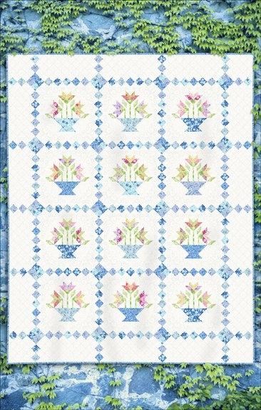 garden fresh quilts book flower basket quilt pattern Interesting Flower Basket Quilt Pattern