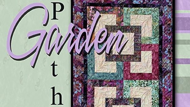 garden path Elegant Garden Path Quilt Pattern Gallery