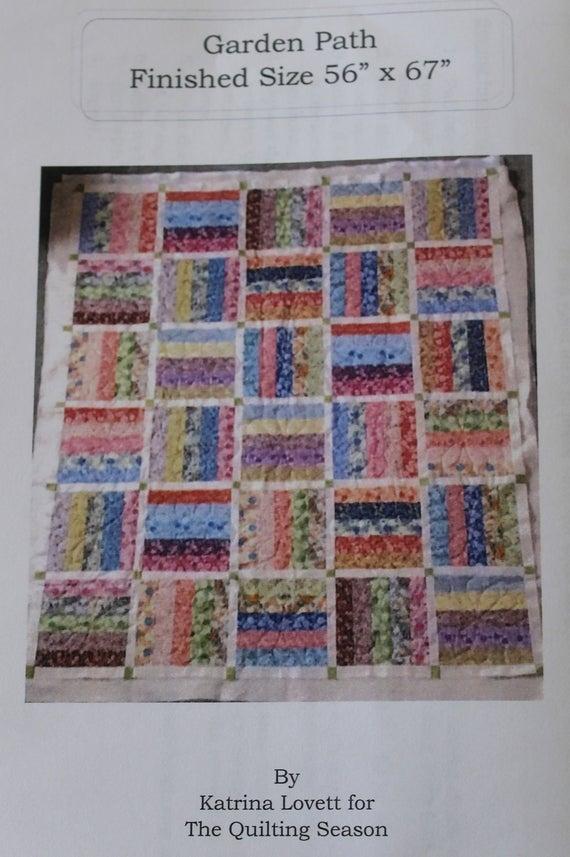 garden path quilt pattern Elegant Garden Path Quilt Pattern Gallery