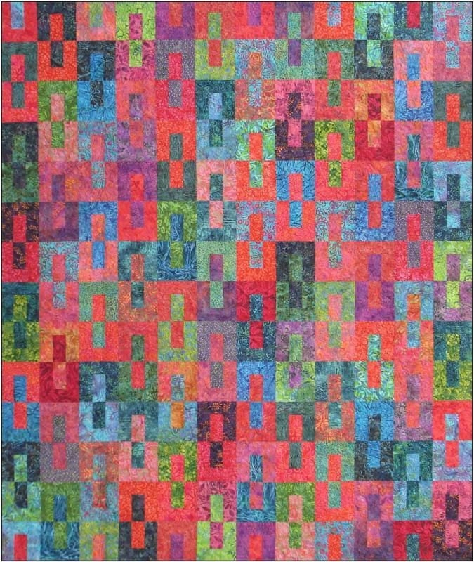 gemini quilt pattern designs jb fat quarter friendly and 2 12 strip friendly diy quilting 2 1 2 Strip Quilt Patterns