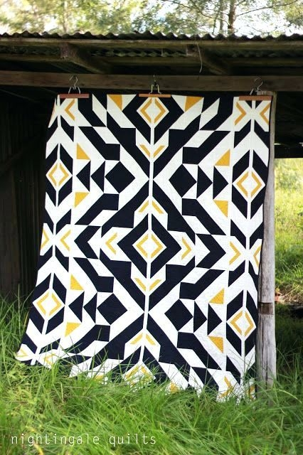 geometric pattern duvet cover top ten tuesday quilts Modern Geometric Quilting Patterns Inspirations